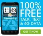 FreedomPop Free Talk Text and 4G LTE Data