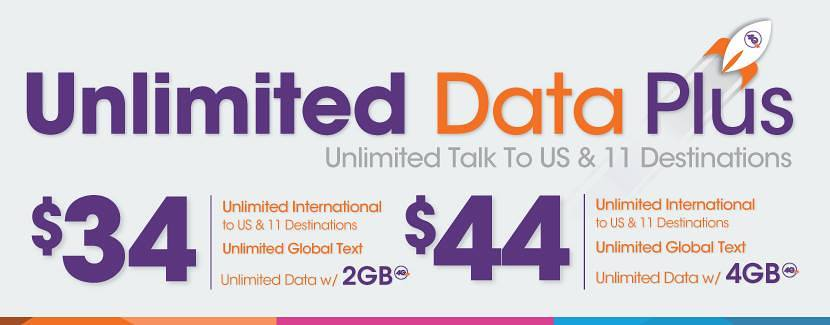 Ultra Mobile Data Plus Plans Upgraded