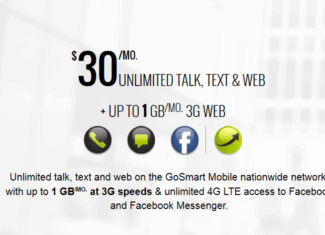 GoSmart Mobile $30 Plan