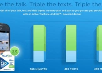 Tracfone Triple Talk Text and Data