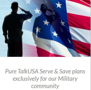 Pure TalkUSA Military Plans