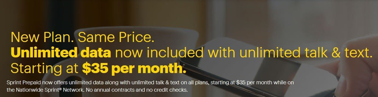 Sprint Prepaid Unlimited Data
