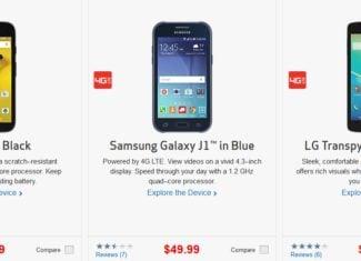 Verizon Prepaid 50 Percent Off Sale