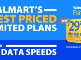 Walmart Family Mobile Plan