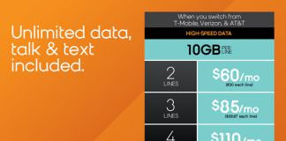 Boost Mobile Switch and Save 50% Family Plans