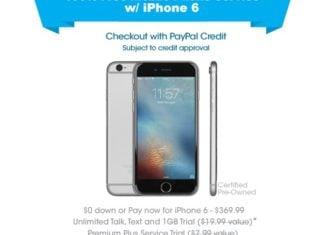 FreedomPop iPhone 6 Sale