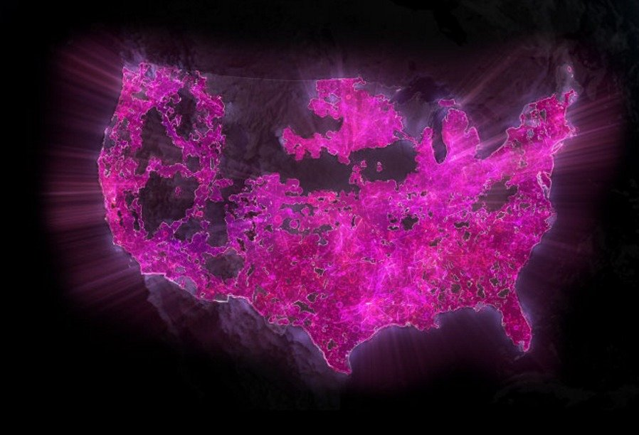 TMobile Enables Band In More Locations For Improved Network - T mobile us coverage map