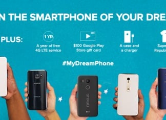 Republic Wireless My Dream Phone Sweepstakes