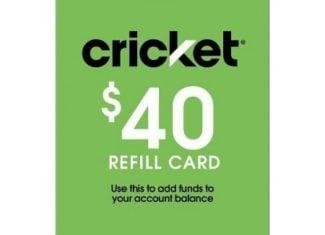 Cricket Wireless Refill Card