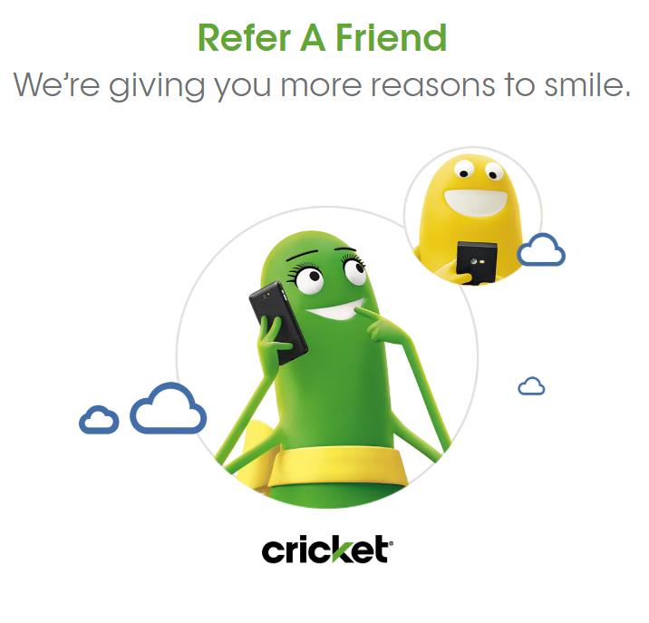 Cricket Wireless Refer A Friend Program