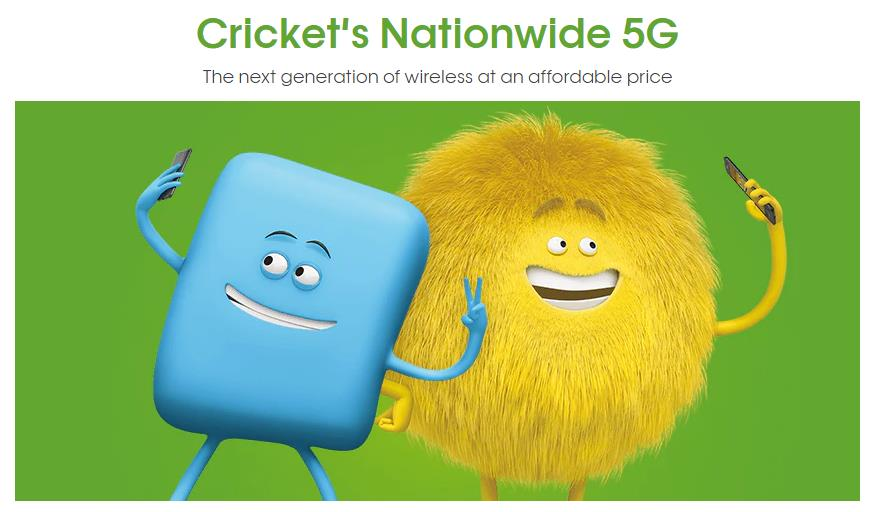 Nationwide 5G Network Access Is Offered By Cricket Wireless But Only With Select Plans And Devices