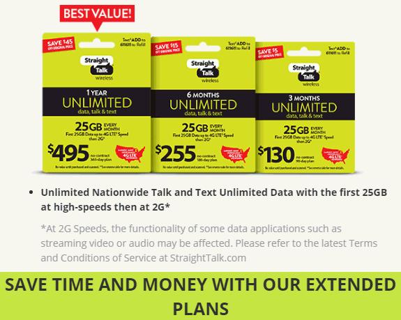 Straight Talk Wireless Offers Multi-Month Plan Discounts