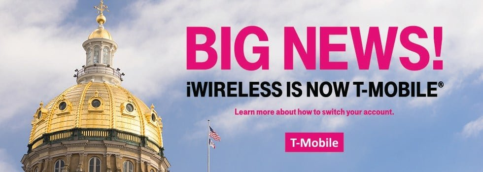 iWireless Is Now T-Mobile