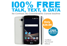 FreedomPop LG Tribute Promotional Offer With 7GB Of Data