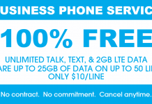 FreedomPop Small Business Plan Launch Promotion