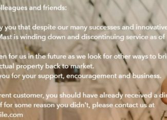 Mast Mobile Closes Down