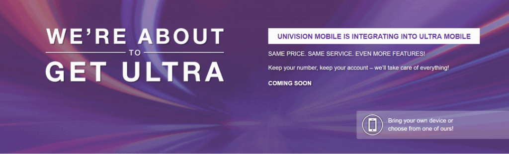 Ultra Mobile And Univision Mobile Merging