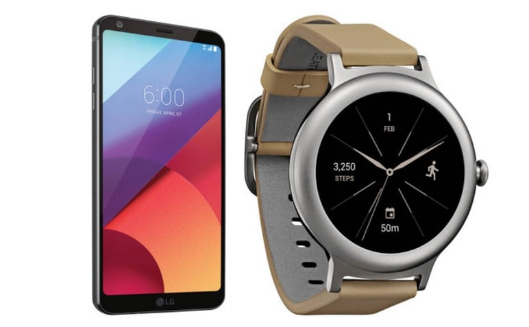 Get The LG G6 For $549.99 Or In Combo With LG Style Smart Watch For $599.99