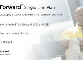 Sprint Forward Prepaid Plans Announced