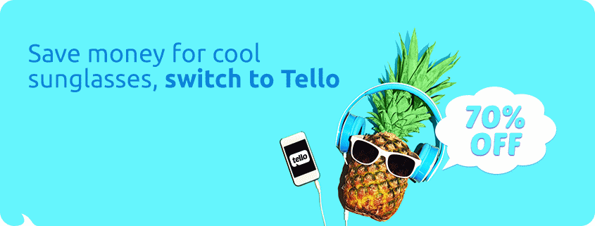 Tello Offering 70% Off To New Subscribers With Code 2HOT