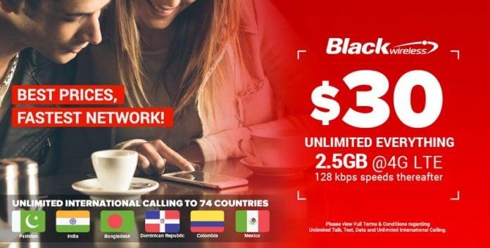Black Wireless Updates Phone Plans July 2017
