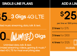 Boost Mobile 2 Lines 75 Dollars Offer