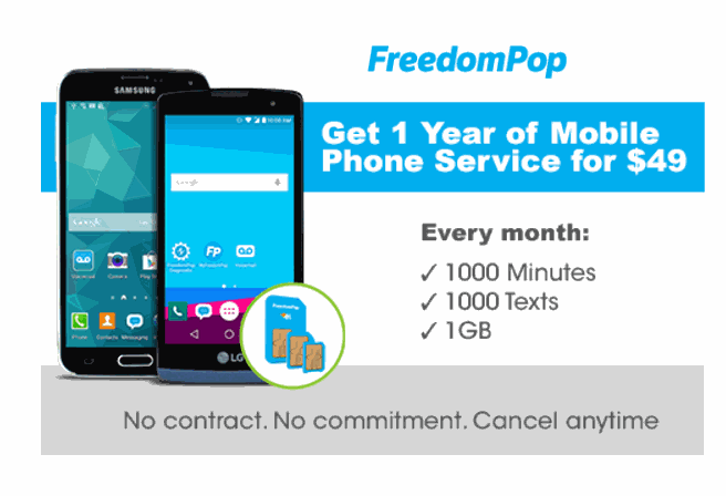 FreedomPop Best And Most Unique