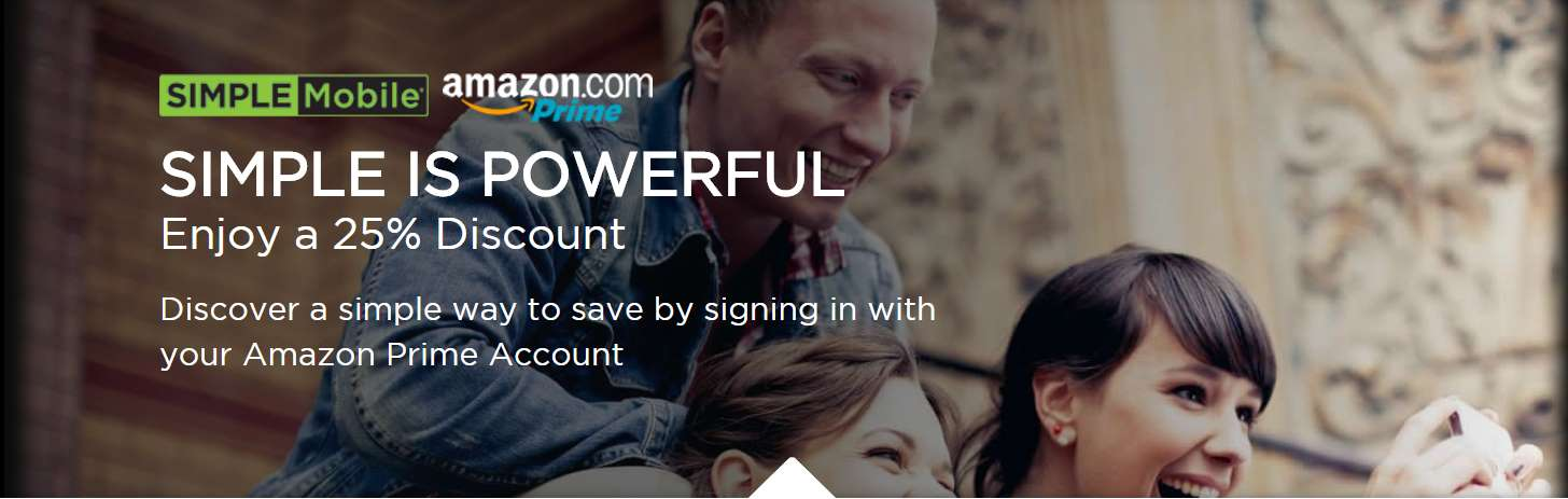 Simple Mobile Offers Discount To Amazon Prime Members