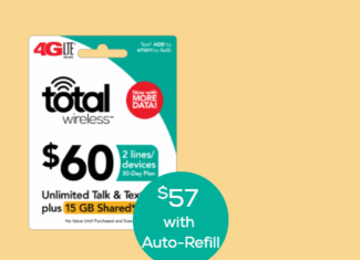 Total Wireless Increases Data Included With Family Share Plans
