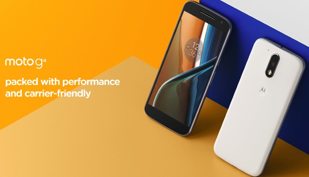 Motorola G4 Plus Discounted By Amazon