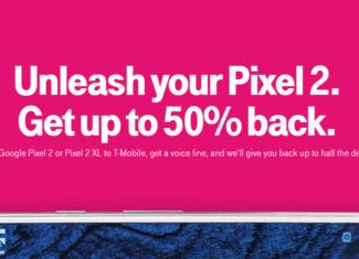 T-Mobile Announces 50 Percent Cash Back On Your Google Pixel