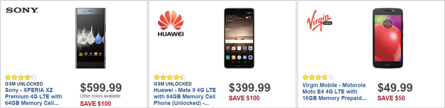 Best Buy Black Friday 2017 Cell Phone Deals