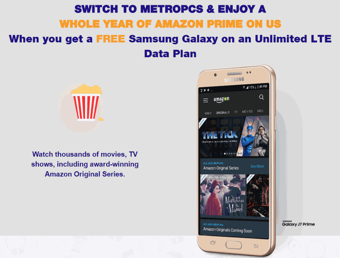 Metropcs Switchers To Get Free Year Of Amazon Prime And A
