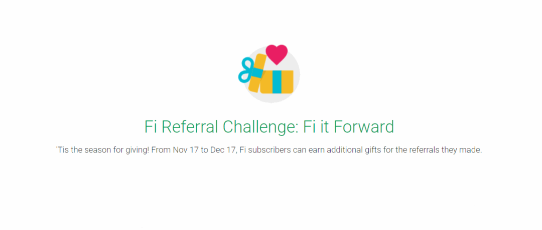 Project Fi Announces Holiday Referral Program