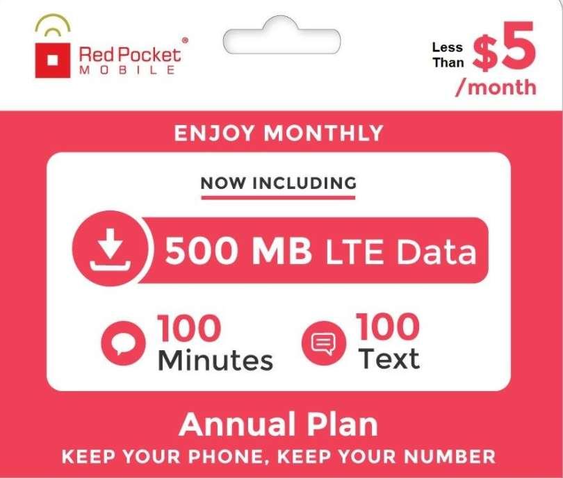 Red Pocket Mobile's eBay Plans Are On Sale