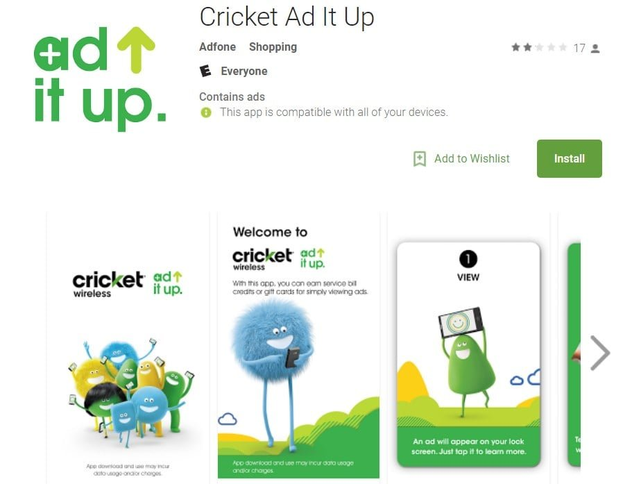 Cricket Wireless May Be Replacing Cricket Rewards With Ad