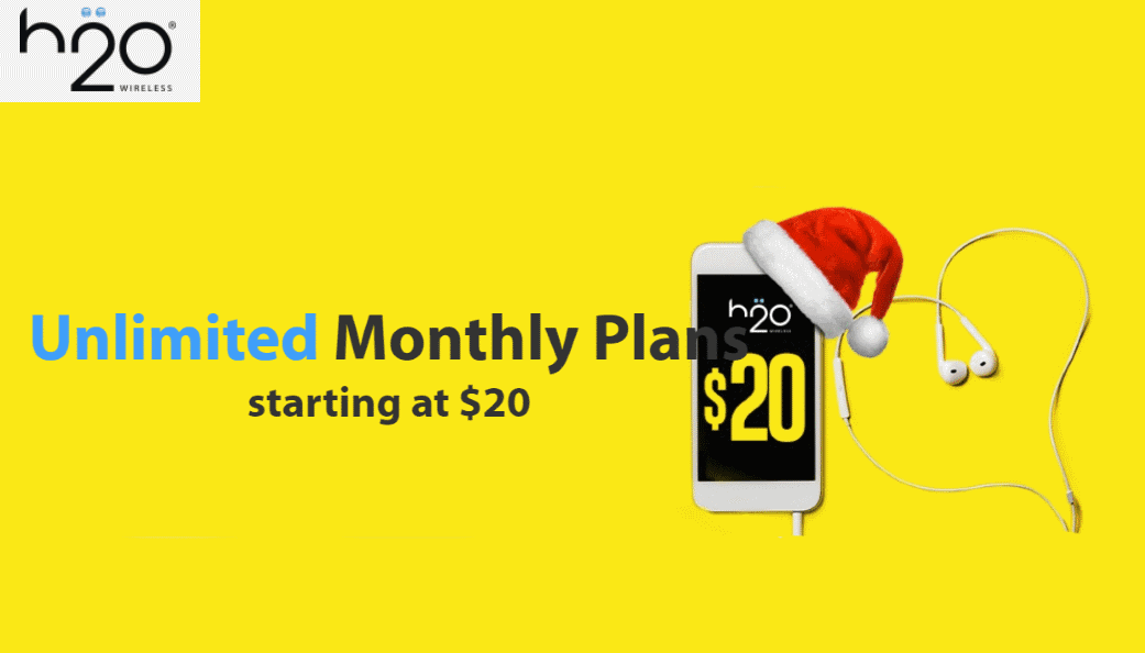 H2O Wireless Plans Now Start At $18/Month, New Subscribers ...
