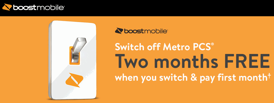Boost Mobile Giving Away 2 Months Of Free Service When You Switch