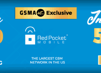 Red Pocket Mobile GSMA Exclusive Deal - 5GB Data For Thirty Dollars