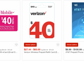 Target Has Prepaid Refill Cards On Sale For 10 Percent Off