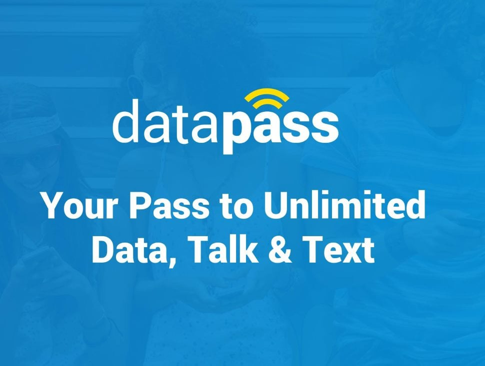 DataPass New MVNO With Unlimited Plans On Sprint, T-Mobile And Verizon