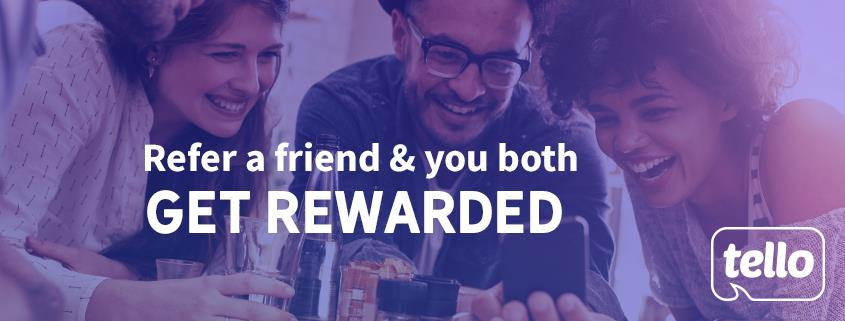 Tello Launches Referral Program