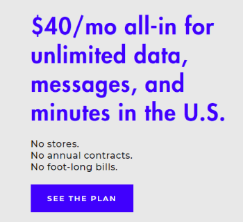 Visible Offers Unlimited Everything With All In Pricing