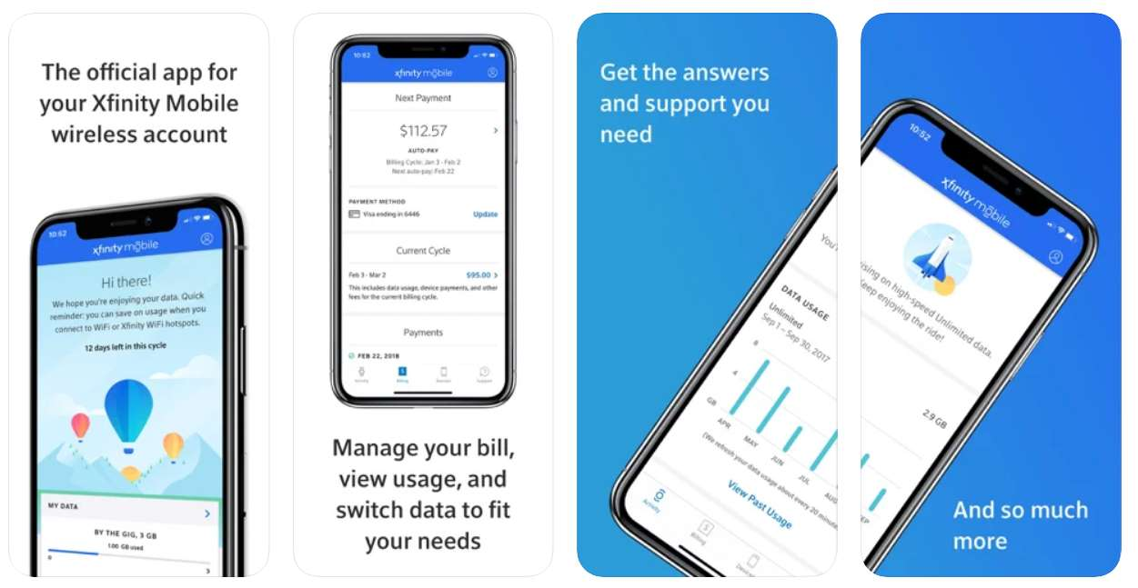 Xfinity Mobile App To Manage Your Account
