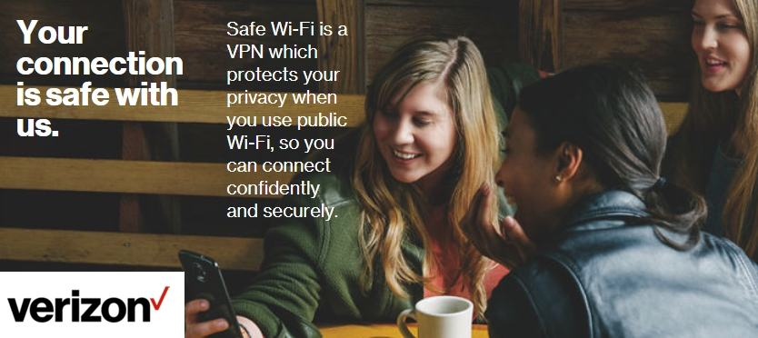 Verizon Wireless Introduces Safe Wi-Fi VPN And New Prepaid Plan Promotion