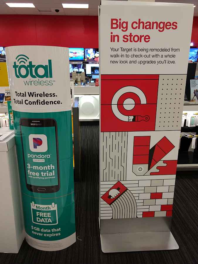Local Target Advertising Total Wireless Free 5GB Data Offer With 3 Months Trial Of Pandora Premium