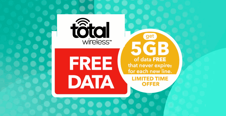 Total Wireless Offering New Customers 5GB Of Free Data
