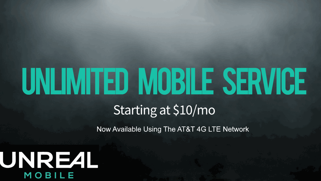 UNREAL Mobile Now Available On The AT&T Network