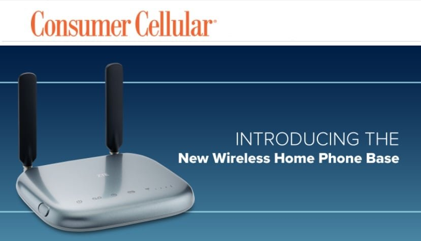 Consumer Cellular Introduces ZTE Wireless Home Phone Base