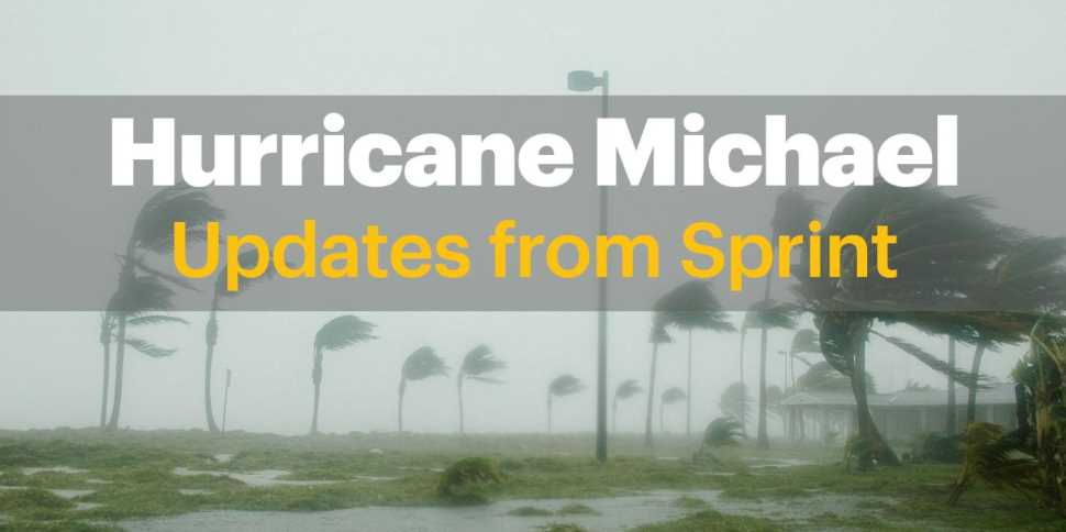 Sprint Customers Impacted By Hurricane Michael Will Get 1 Month Service Credit